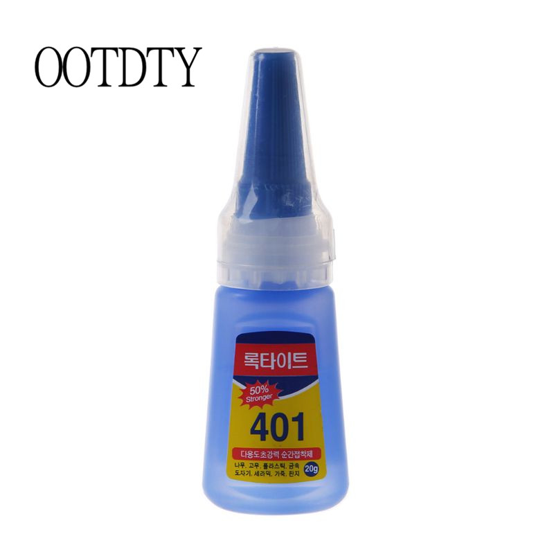 401 Glue Special For Bow And Arrow Fast-drying Mucilage Quick Bonding Dehydration Super Instant Shoes Repair Adhesive