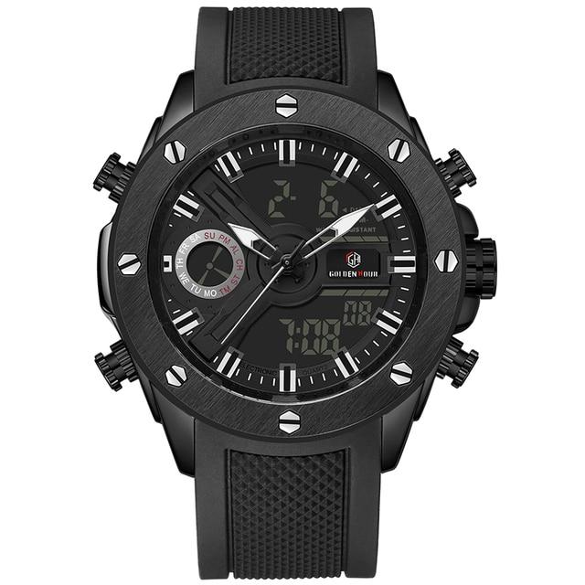 Men Watch Luxury Brand OLDENHOUR Fashion Analog Digital Sports Mens Watches Waterproof Silicone Quartz Watch Relogio Masculino 5