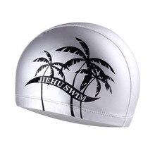 Водонепроницаемая шапка для плавания для взрослых высокоэластичная силиконовая шапочка для плавания для взрослых мужчин длинные волосы для женщин#2M20
