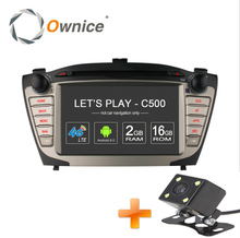 Ownice C500 1024X600 4 Core Android 6.0 Car DVD Player For Hyundai IX35 Tucson 2009 – 2014 Radio GPS BT wifi 4G 2GB RAM 16GB ROM