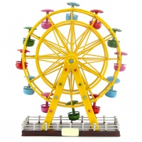 Vintage American Iron decoration pure handmade tin ornaments Ferris wheel birthday gift
