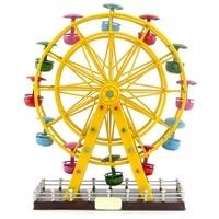 Vintage American Iron decoration pure handmade tin ornaments Ferris wheel birthday gift