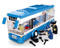 Sluban City Bus Assembled Monolayer Building Blocks DIY toys Educational toys for Children S065