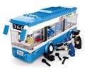 Sluban City Bus montado monocapa DIY bloques de construcción juguetes educativos juguetes para los niños S065