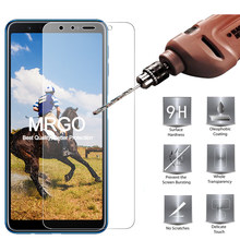 MRGO Tempered Glass For Samsung Galaxy A7 2018 A8 Plus Screen Protector Protective Glass For Samsung A6 A9 A7 A8 2018 Glass(China)