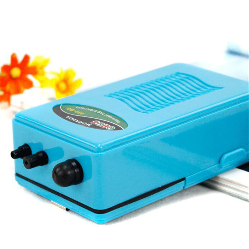 Use 10 hours dry battery cell aquarium air pump ultra for Battery operated fish