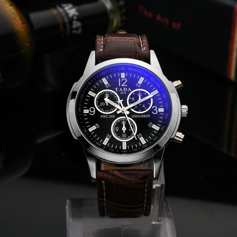 TADA New Brand Quartz Watch lovers Watches Women Men Waterproof Watches Leather Dress Wristwatches Sports Fashion Casual Watches
