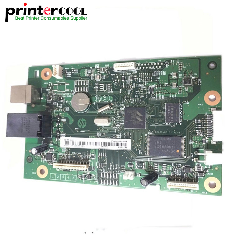 Used Formatter PCA ASSY Formatter Board CZ165-60001 for HP M177 177 177FW 177FN printer logic Main Board MainBoard mother board ipc floor pca 6114p10 rev b1 100% test