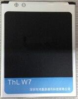 Jinsuli THL W9 W7/THL W300 Için W7S Pil Boyut 105mm X 75mm X 4mm Orijinal ücretsiz kargo