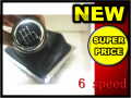 GRASA Para VW Passat B6 2006 2007 2008 2009 2010 2011 nuevo 6 Speed Car Gear Shift Knob Con Botas de Cuero 3C0711113A