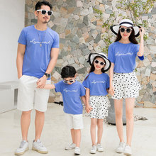 Fashion Holiday Summer Family Dot outfits clothes Mother Dau