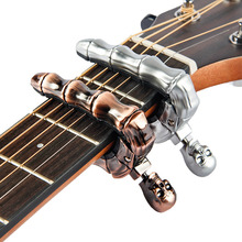 BATESMUSIC Ghost finger  guitar Capo for Electric & Acoustic Guitar / Folk Guitar Capo / Guitar Accessories guitar capo 2 pack capo for acoustic and electric guitar 6 string ukulele capo tenor concert soprano baritone wooden color