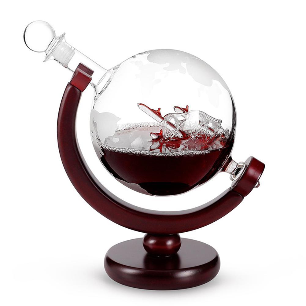 800 мл Хрустальная красная карта бокал для вина Графин коньяк декант набор кувшин бар шампанское бутылка для воды питьевой графин Para Vinho