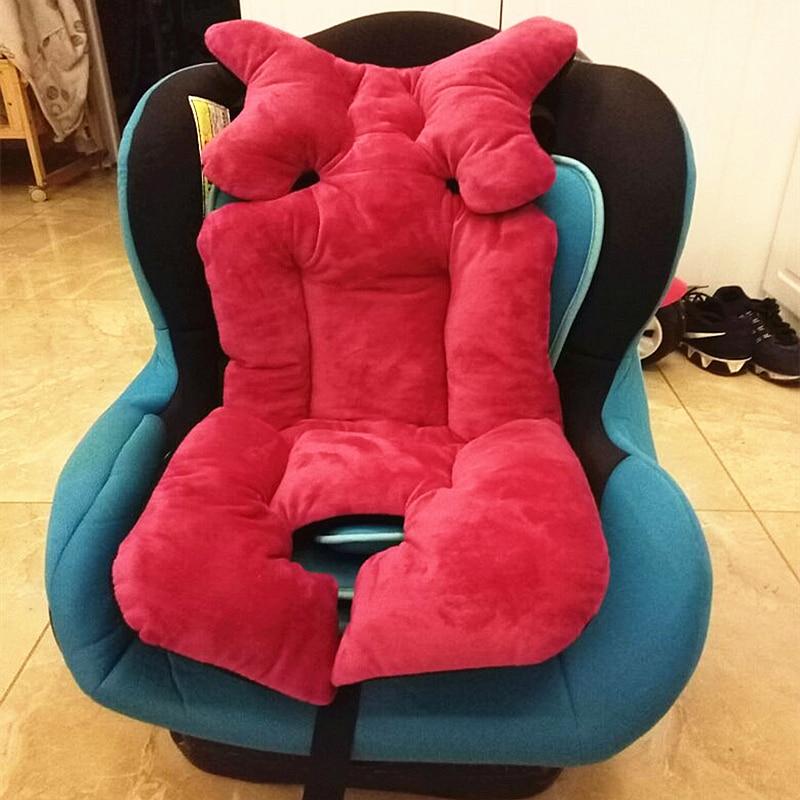 4 ფერები Baby Stroller Cushion For Stroller Seat, Thick - ბავშვთა საქმიანობა და აქსესუარები - ფოტო 2