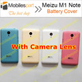 Meizu M1 Note Battery Cover 100% Original  battery Back Cover with Camera Lens for Meizu M1 Note Smartphone Free Shipping