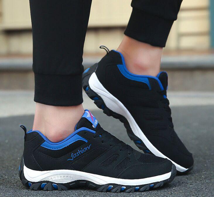 De azul Deporte Transpirables Aire Libre 201 gris Al Hombres Masculino Negro Primavera Los Zapatillas Tenis La Zapatos Hombre Casuales dqwTZ