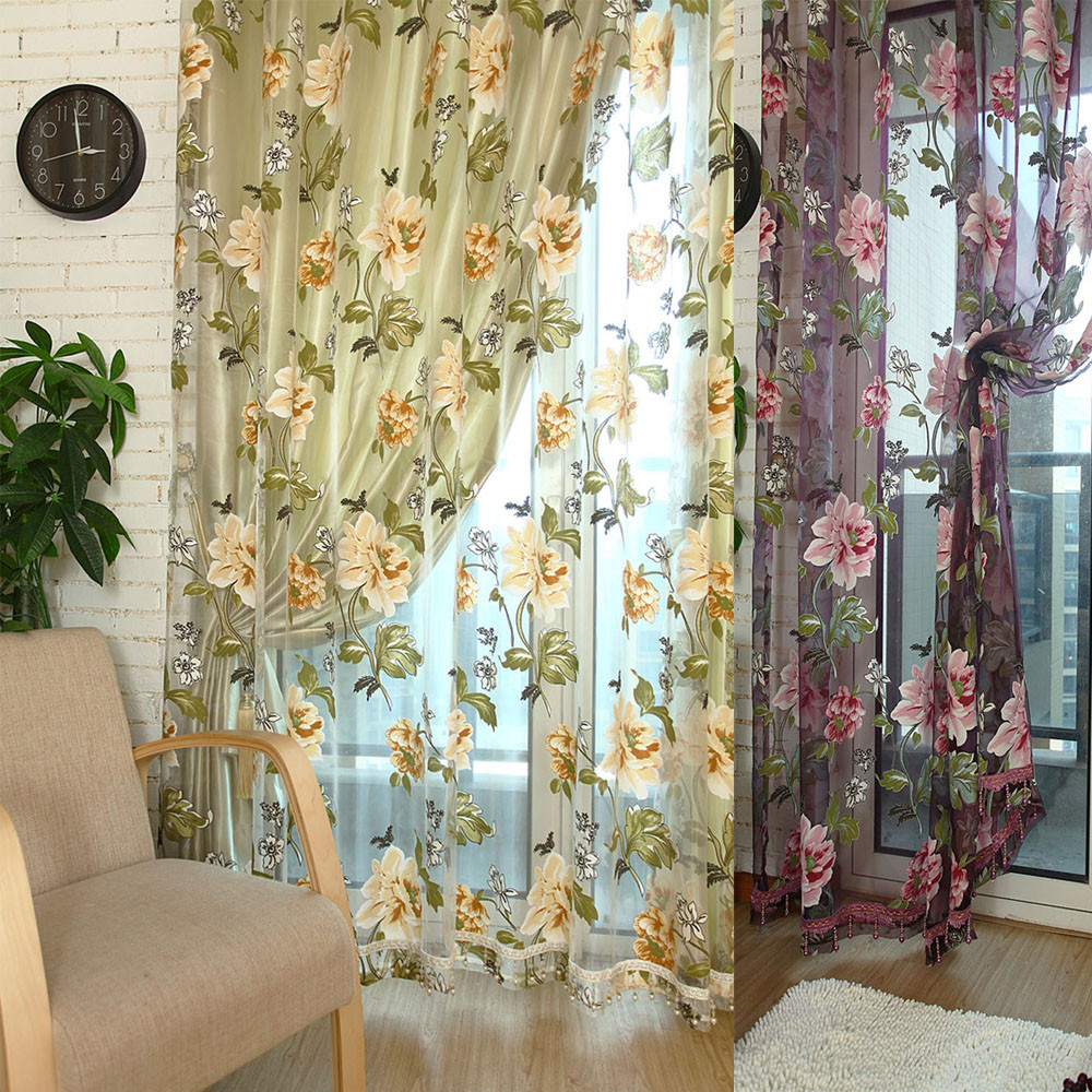 Popular Red Yellow Curtains-Buy Cheap Red Yellow Curtains