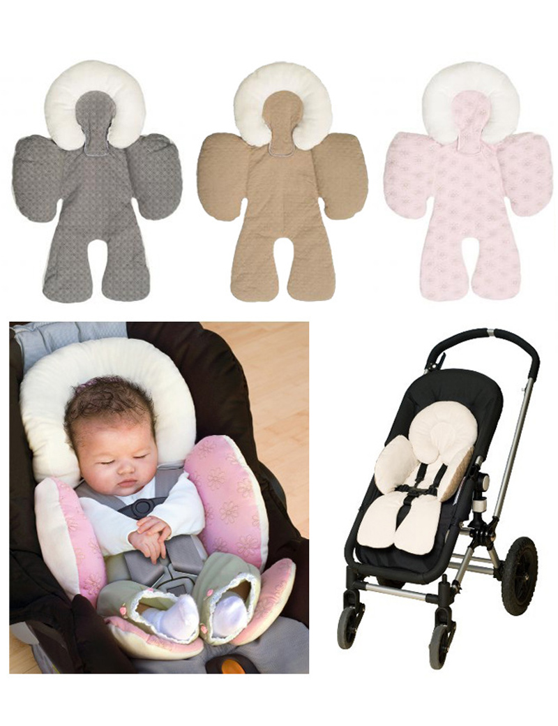 Infant Baby Car Pillow Newborn Travel Cushion Head Protection Concave Shaped Within 18months Using In From Mother Kids On