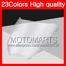 23Colors Windscreen For KAWASAKI NINJA ZXR400 1991 1992 1993 ZXR-400 ZXR 400 1994 1995 1996 Chrome Black Clear Smoke Windshield