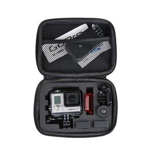 Image 5 - Gopro 액세서리 용 대형 가방 go pro hero 용 big eva collection 박스 케이스 5 4 3 sjcam sj4000 eken h9 xiaomi yi 액션 카메라