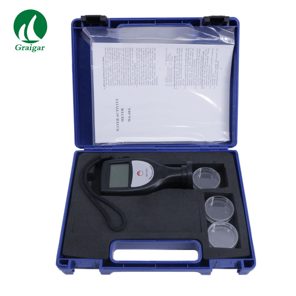 New WA-60A Digital Water Activity Meter WA60A