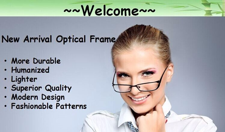 welcome optical frame
