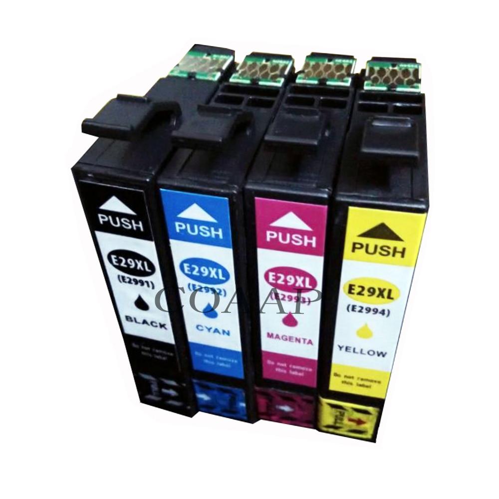 4x T2991 T2992 T2993 T2994 Cartuccia di Inchiostro per Expression Home Page XP-235 XP-335 XP-332 XP-432 XP-435 XP-247 XP-345 XP-247 XP-245