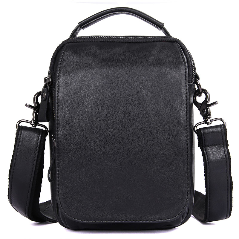 JMD Genuine Leather Sling Bag Shoulder Bags For Men's Small Daily Messenger Bag 1012A/Q