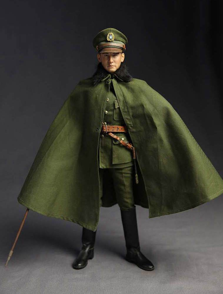 1:6 scale Super flexible figure WWII The Kuomintang General Zhang Lingfu 12 action figure doll Collectible Model plastic toy did1 6 the rock us marine corps general francis x hummel model12inch action figure doll the finished product