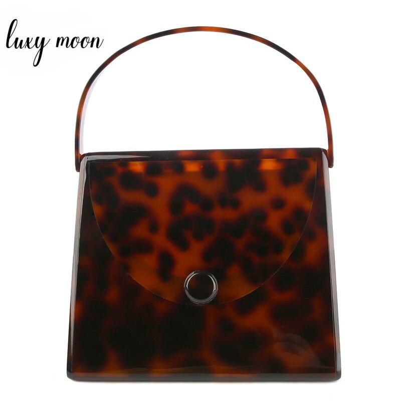 Luxury Purse Clutch Female Fashion Design Vintage Leopard Printing Mini Handbags Elegant Party Bag Evening Bags