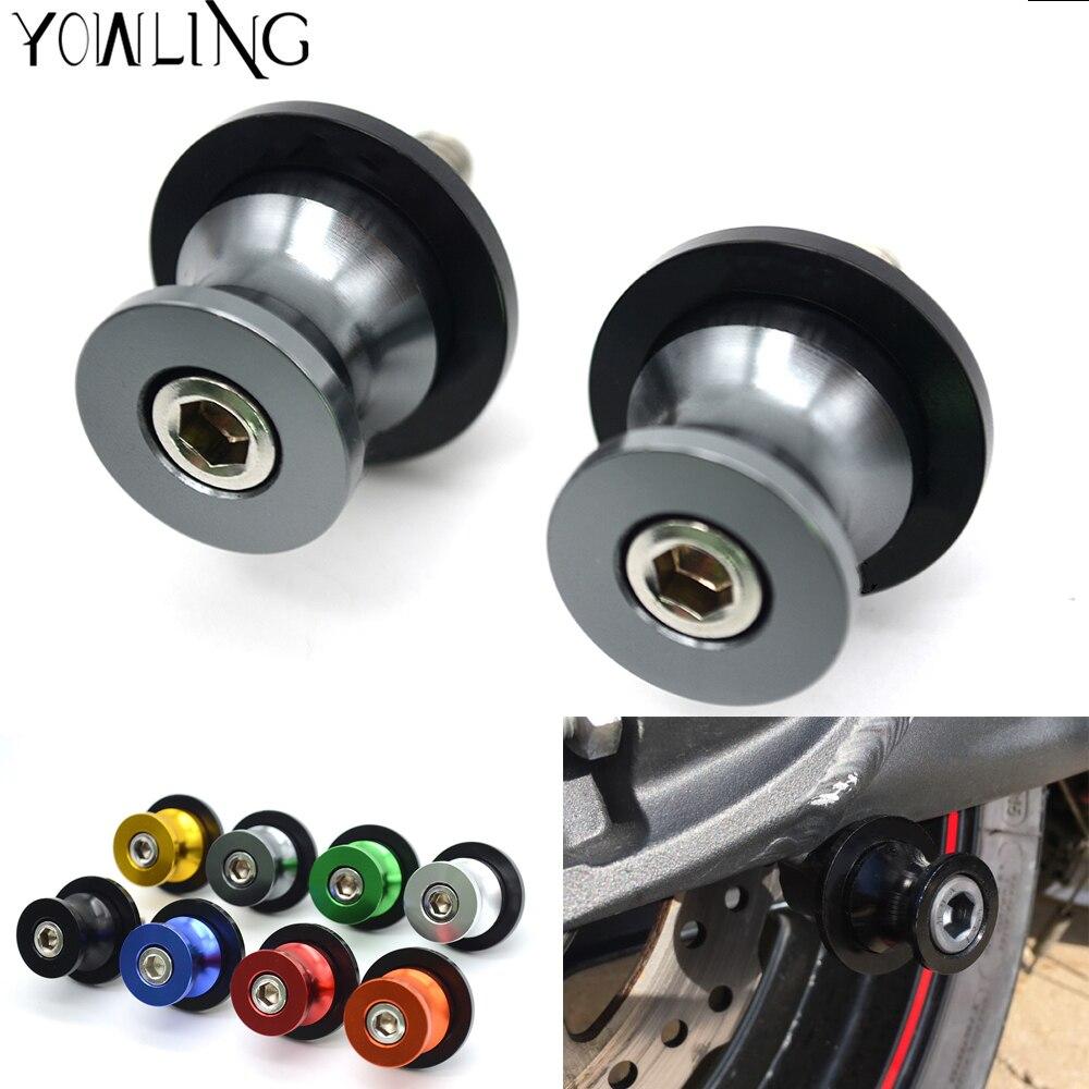 6/mm basculante carretes Slider para Yamaha YZF R1/R6/R6S YZFR1/YZFR6/YZFR6S carbono