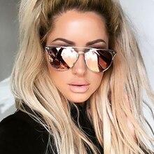 CandisGY новые очки металлические кошачий глаз металлические солнцезащитные очки оригинальные фирменные очки женские очки Модные оттенки роскошное покрытие