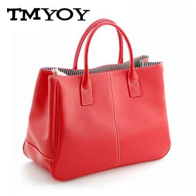 TMYOY Women Leather Handbags Female Top-Handle Bag Small Bucket Fashion Ladies Candy Color Women's Bags Hand Bolsas 2018 VS024