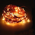 10m  20m 30m 50m  Copper Wire Christmas Holiday LED String Fairy Lights For Home Gardenb Wedding