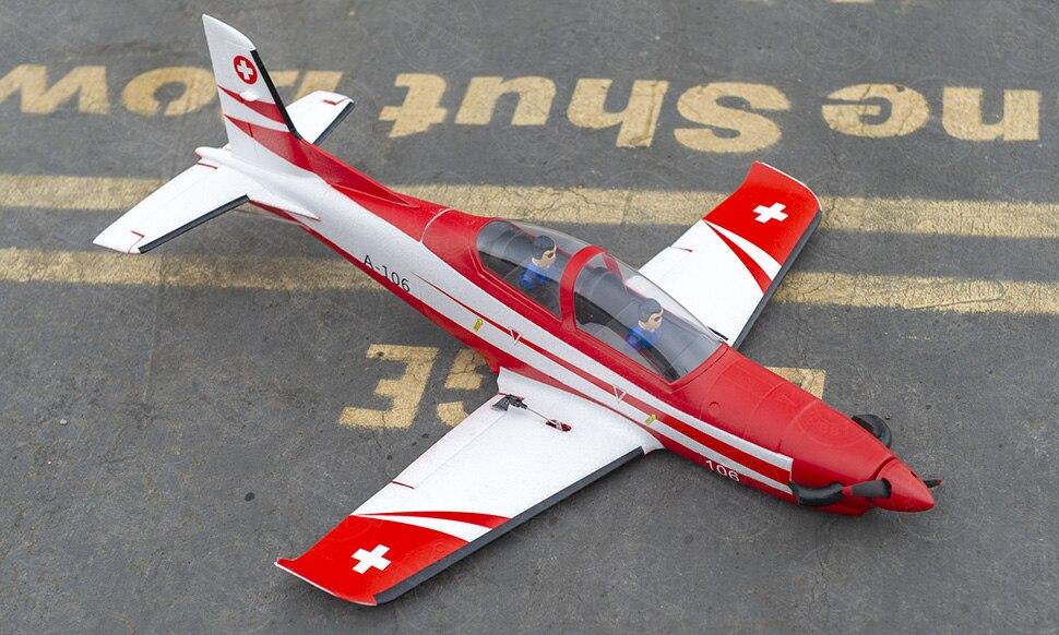 EPO RC Warbird PC21 colored