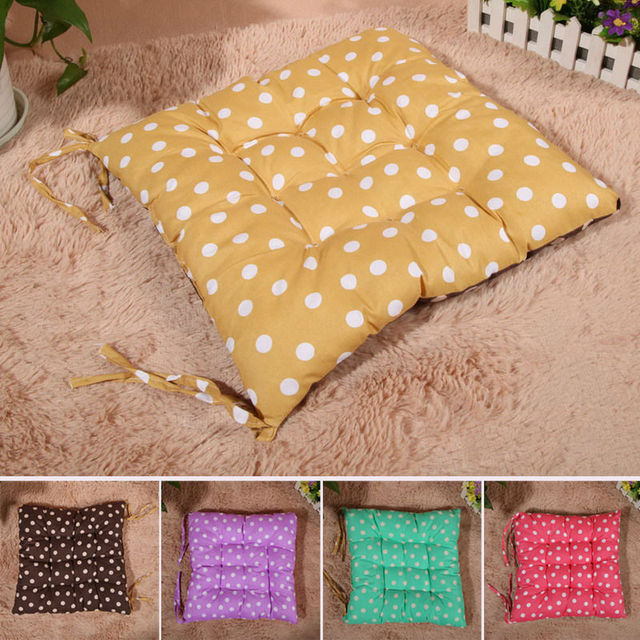 Aliexpress.com : Buy Cute Polka Dot Seat Cushion Double Color Soft ...