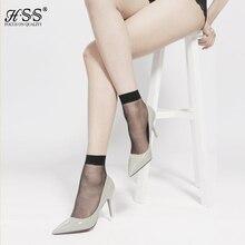 2016 new ultra-thin short sock bamboo fiber socks woman sexy black breathable Transparent Silk Socks for girl cool crystal cheap