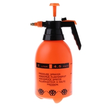 2.0L 자동차 세척 압력 스프레이 포트 자동 청소 펌프 분무기 병 가압 스프레이 병 높은 내식성