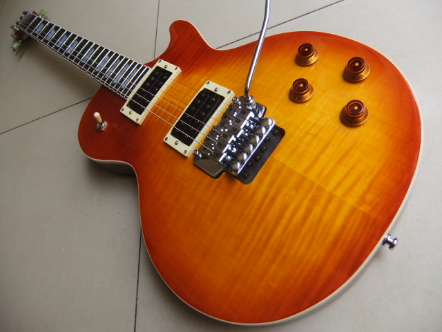 New Historic 1959 LP custom shop electric guitar with floyd rose tremolo In Sunburst 110422 2016new electric guitar g lp custom guitar black white sunburst more colorguitar in china