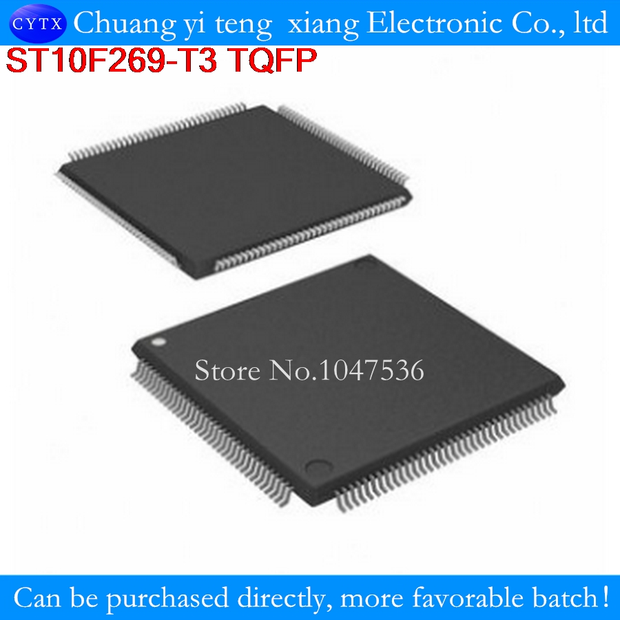 ST10F269-T3 ST10F269 10F269 QFP BOSS amplifier vulnerability CPU with needed to ensure easy contact 10PCS/LOT