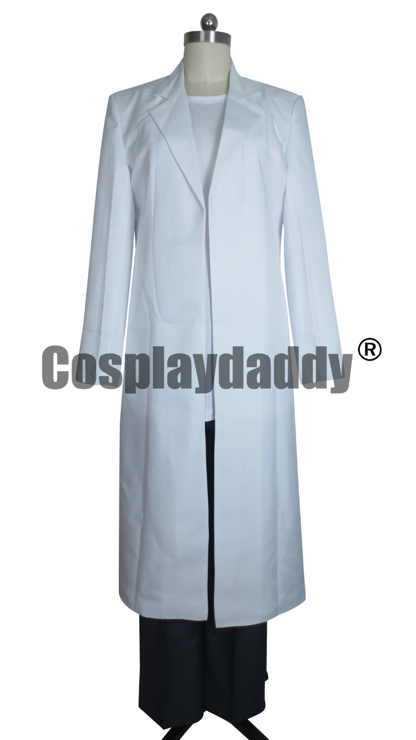 Steins Gate Cosplay Okabe Lab Coat Costume Only coat