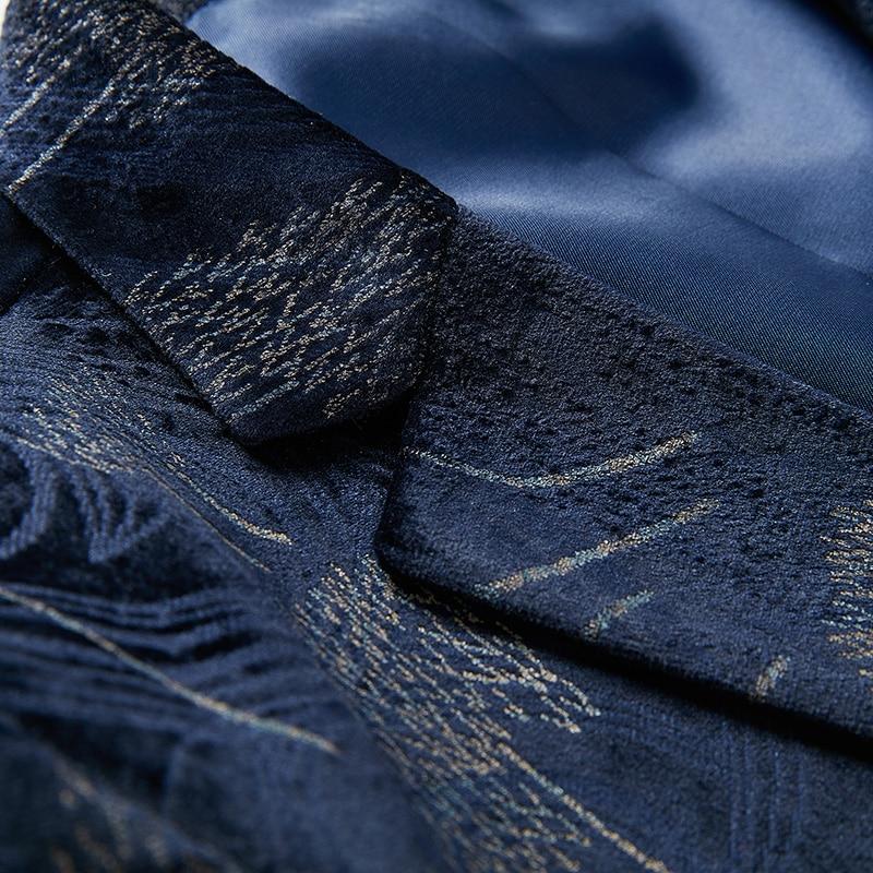 D'affaires Conçu De Taille Top Blazer 2019 Nouveau Veste Grande Hommes Manteaux Bal Costumes 6xl Bleu Mâle Luxe Pour Blazers Coton M vN8Oynm0w