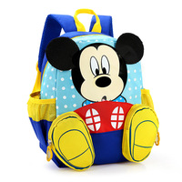 2016 Cute Cartoon Backpack Students School Bags Boys Girls Daily Backpacks Children Bag Kids Toddler Schoolbags