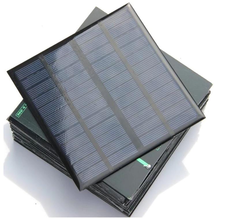 carregador de bateria solar 3w silicone polycrystalline celulas fotovoltaicas de 12v diy 145 145mm 3w pequeno