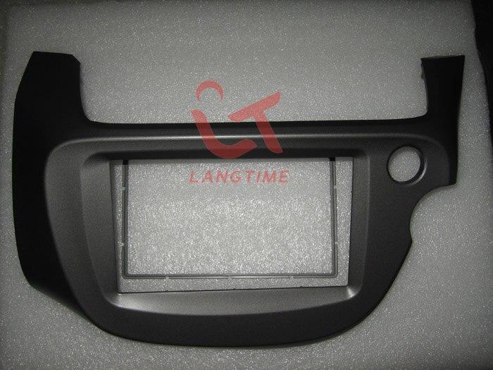 Car refitting DVD frame,DVD panel,Dash Kit,Fascia,Radio Frame,Audio frame for 2008 Honda Fit Jazz ( Right Hand), 2DIN honda 50100 hn2 970 frame