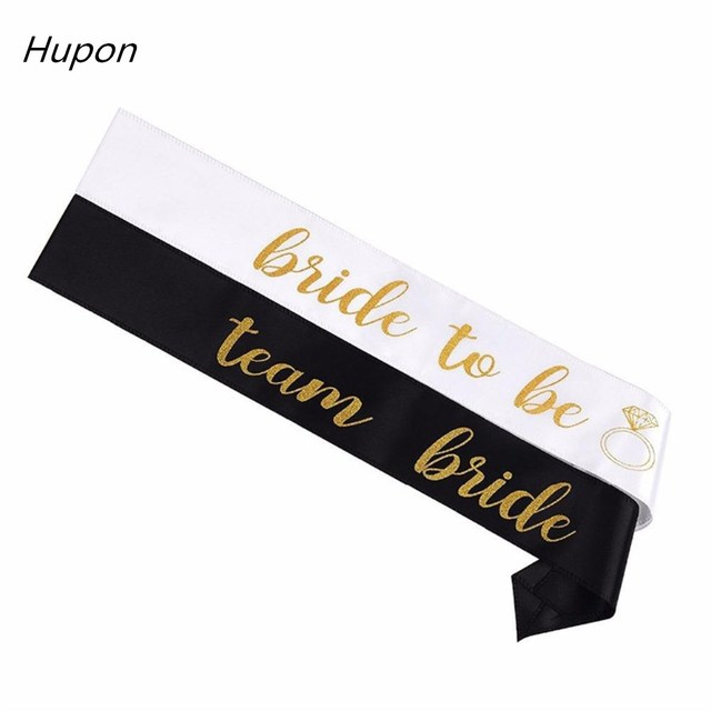 12pcs Satin Bride to Be Team Bride Sash Hen Night Bachelorette Party Sash Wedding Bridal Shower Decorations Event Party Supplies