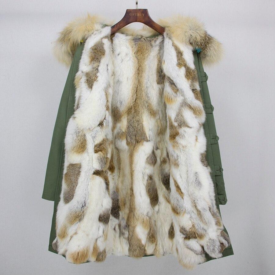 Épaisse fox Veste 1 0 Streetwear rabbit Liner Parka Plus Outwear La Parkas 0 1 Fox Casual Rouge Fur De Fourrure Renard Manteau Longue Taille D'hiver Femmes rabbit Naturel Véritable Chaud wxTfWgH40q