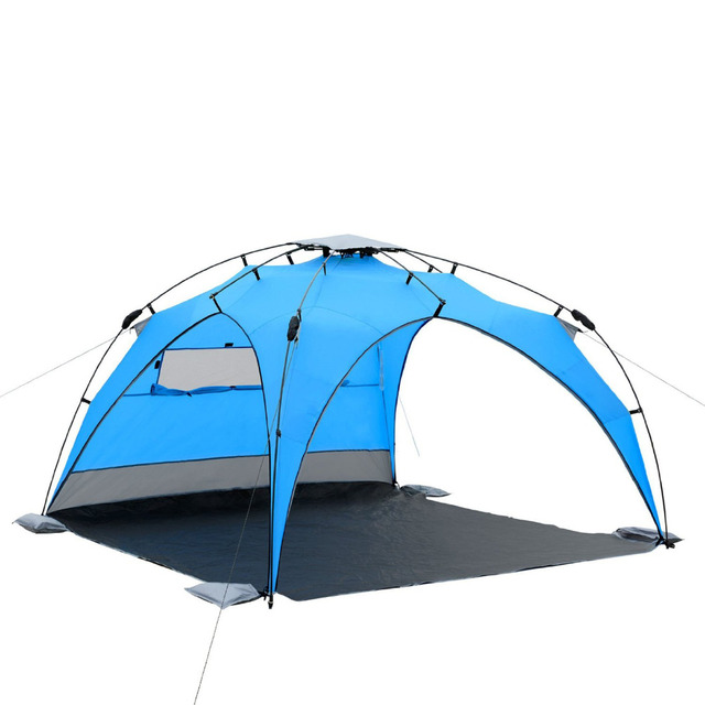 Wnnideo Beach Tent Plus Umbrella Sun Shelter Instant Portable Cabana Shade Outdoor Popup Anti Uv 50 Lightest Most