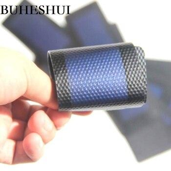 BUHESHUI 0.3W 1.5V Flexible Solar Cells Amorphous Silicon Very Slim Solar Panel Diy Charger Education Kits 10pcs Free Shipping
