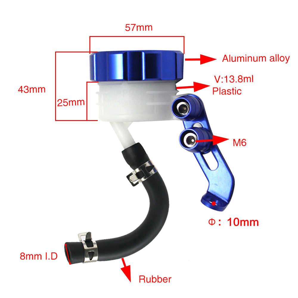 ZSDTRP CNC moto avant frein liquide réservoir embrayage réservoir huile fluide tasse pour SUZUKI GSXR 600 750 GSXR1000 GSX R 650 750 1000